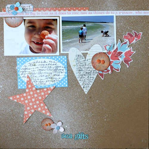 "Doris Sander on How Your Go-to Scrapbook Page Designs Point to the ""Sketches in Your Mind"" 