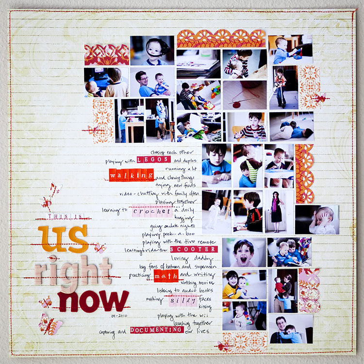 Content and Design Ideas for Long Scrapbook Page Titles  | Karen Grunberg | Get It Scrapped