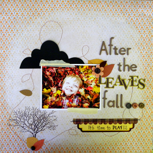 Build Foundational Layers to Support Scrapbook Page Story | Get It Scrapped