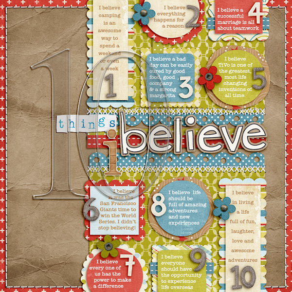Lynnette Penacho Shares 5 Ways to Use Shapes to Start Your Scrapbook Page Designs